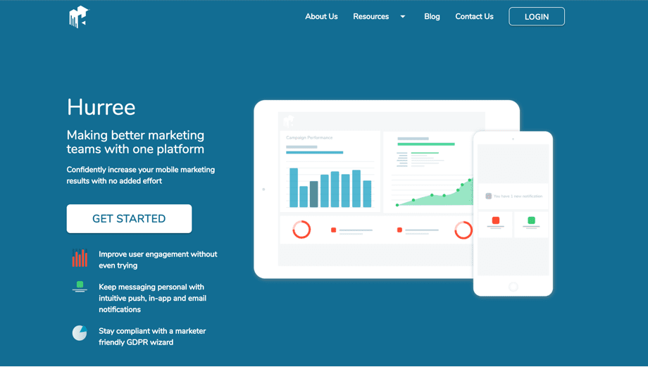 More about the Hurree marketing automation platform